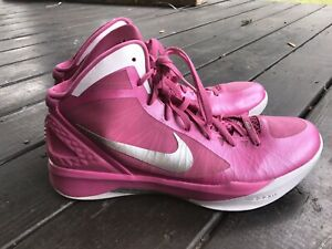MENS NIKE HYPERDUNK 2011 PINK BASKETBALL SHOES SIZE 14 ZOOM AIR