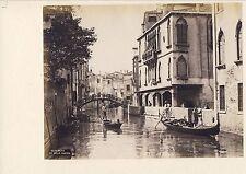 GF038 Venise Venezia Carlo Naya rio Guerra Santa Sofia ponte Priuli  Benedetti