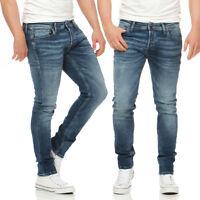 JACK & JONES - GLENN ORIGINAL JOS107 - Slim Fit -  Herren Jeans Hose - NEU