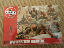 Airfix A01763 WWII British Infantry Northern Europe 1/72 Scale Series 1 Plastic
