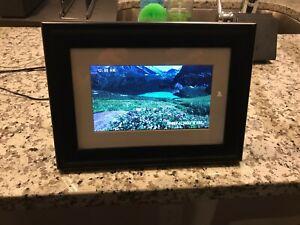 Pandigital 6'' LCD Digital Black Photo Frame - No Original Box, Great Condition