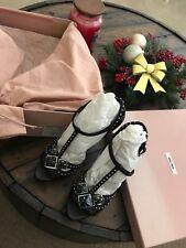 Miu Miu Heels Size 35 Retails $995