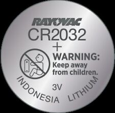 Rayovac CR2032 Lithium Battery  3 Volt 1 Pack KECR2032-1