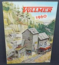 Old Volmer Model Railway Catalogue For 1960 .