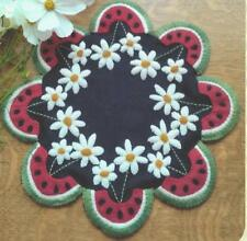 Watermelon Summers applique quilt pattern Cathy Wagner of Cath's Pennies Designs