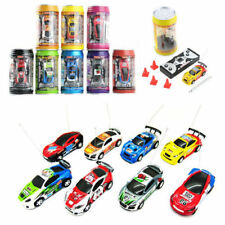 Multicolor Coke Can Mini Speed RC Radio Remote Control Micro Racing Car Toy Gift