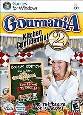 Gourmania 2: Kitchen Confidential (2011) PC CD-Room NEU & VERSIEGELT Factory Sealed