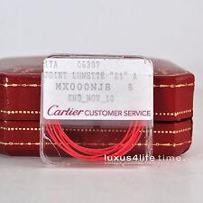 Cartier must21 Autosgraph neue Formdichtung Lünette, neu