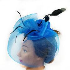 Fascinator - Flower Net Mesh Hat (STS01102)