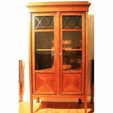 Antik Alt Kommode Interieur Schrank Vitrine Kommode Glastüren Antique Art deco