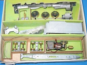 BOXED VINTAGE PENN LINE HO TRAIN KIT PENNSYLVANIA K-4 BRASS UNUSED MOTOR WORKS I