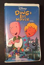 Disney - Doug's 1st Movie (VHS Clamshell 1999) 90's Nickelodeon Kids Cartoon