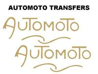 Automoto Tank Transfers and Decals Motorcycle D179 Sold as a Pair