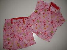 Kanz süße Kombi Gr. 62 rosa kurze Hose + Bluse !!