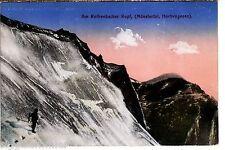 Rothenbachkopf AK WK i alpinisti animeé Vosgi ALSAZIA ALSACE FRANCE 1505527