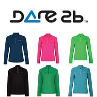 Women's Dare2B Involve Core Stretch Midlayer Half Zip Sport Top DWL331 RRP £40