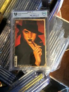 LOIS LANE #1 Frison Variant Cover CBCS 9.8 = CGC 9.8 🔥 1ST FIRST Kiss Of Death