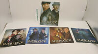 BBC SHERLOCK SERIES 1-5 - Lenticular 3D Flip Magnet Cover FOR bluray steelbook
