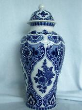 Große Deckelvase echt Kobalt Wallendorf W 1764 Porzellan,Topzustand