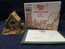 Lilliput Lane The Toy Box