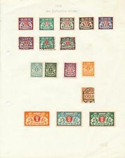 Danzig stamp collection 1923  mint & used new inflation issues