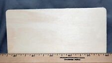 """Rectangle Sign 5-1/2"""" New Unfinished Wood Craft Made in USA Hang or Mount"""