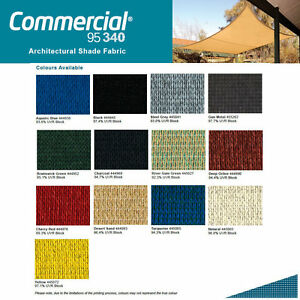Top Quality Commercial 95 Coolaroo Sun Shade Sail Awning Material by the METRE