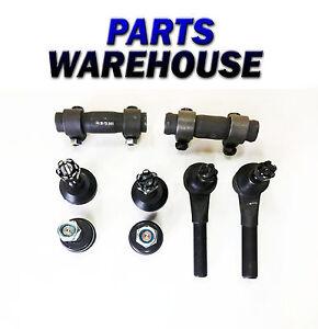8 Pc Steering Kit for Bronco II Explorer F-100 Ranger Tie Rod End & Ball Joints