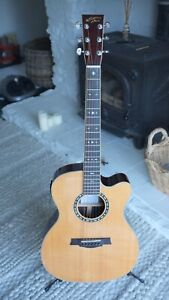 Recording King ROC - 57CFE electro acoustic guitar