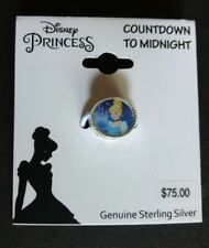 Genuine Sterling Silver Charm Disney Princess Cinderella Pumpkin Coach Bead nwt
