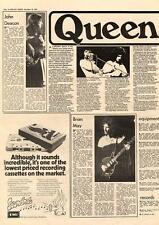 Queen Band Breakdown MM4 1974