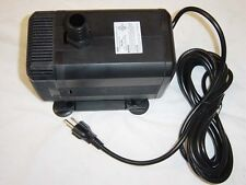 SUBMERSIBLE KOI POND PUMP 1600gph w/FILTER w/Extras.Fountain Kit!!