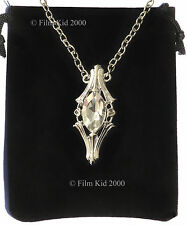 Silver Galadriel Crystal Phial Necklace Elven LOTR Hobbit Lord Of The Rings