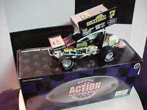 1997 JEFF SWINDELL #7 GOLD EAGLE 1/24 ACTION SPRINT CAR