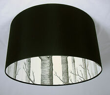 "19"" Lampshade Handmade in UK - Cole & Son Woods Wallpaper"