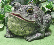 Large Chubby Fat Frog Toad Latex Fiberglass Production Mold Concrete Plaster