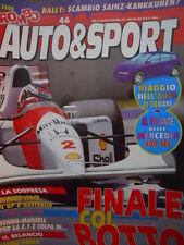 ROMBO 46 1992 Gp Australia vince Berger - Incidente Senna Mansell
