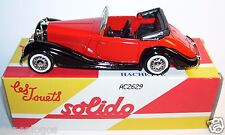 MADE IN FRANCE SOLIDO HACHETTE MERCEDES BENZ 540 K 1938 ROUGE 1/43 in BOX