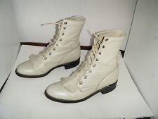 JUSTIN Roper Granny Grunge Boots Size 5 C Women's