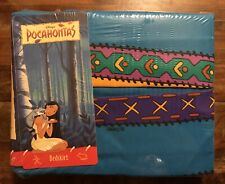 Reduced Rare Disney's Pocahontas Full Double Bed Skirt Brand New In Package