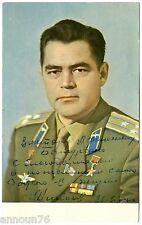 NIKOLAEV Signed Photo PC Autograph Signature USSR SPACE