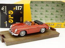 Brumm 1/43 - Porsche 356 Roadster 1950