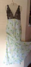 $128 Victorias Secret Designer Collection Fantasy Island L Silk Nightgown N316