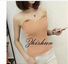KNITTED SLEEVELESS TOP 18620 RC  - BROWN