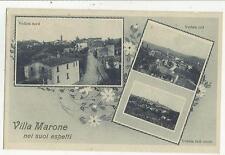 83902 ANTICA CARTOLINA VILLA MARONE SAN DAMIANO AL COLLE