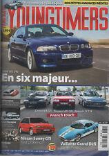 YOUNGTIMERS 81 BMW M3 E46 VAILLANTE GRAND DEFI NISSAN SUNNY 1.8 GTI 16S ALFA 164