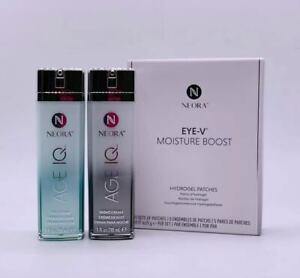 Neora AgeIQ Day &Night Cream Set + Free Eye Hydrating Mask 5Pairs