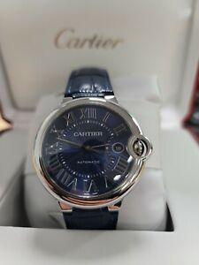 Cartier Ballon Bleu Blue Men's Watch - WSBB0025