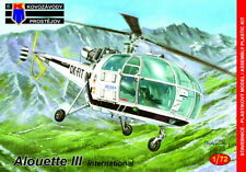 KOVOZAVODY PROSTEJOV 1/72 Modèle Kit 72151 aerospatiale alouette III International