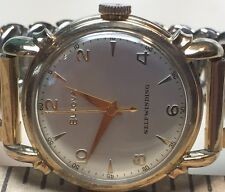 Vintage Mens Bulova Automatic Selfwinding Watch L1 Recent Cleaned New Crystal